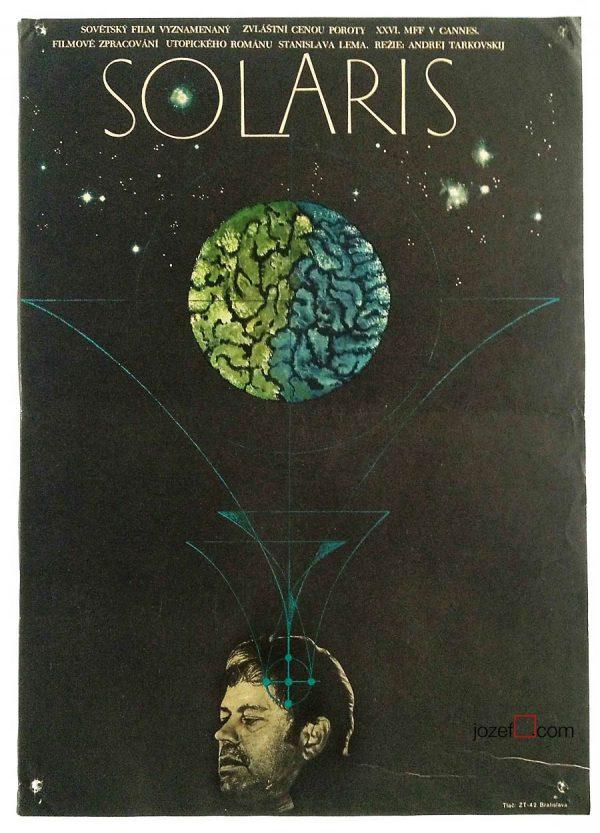 Movie poster Solaris, Andrei Tarkovsky