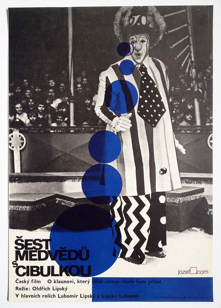 Clown Movie Poster, Circus poster