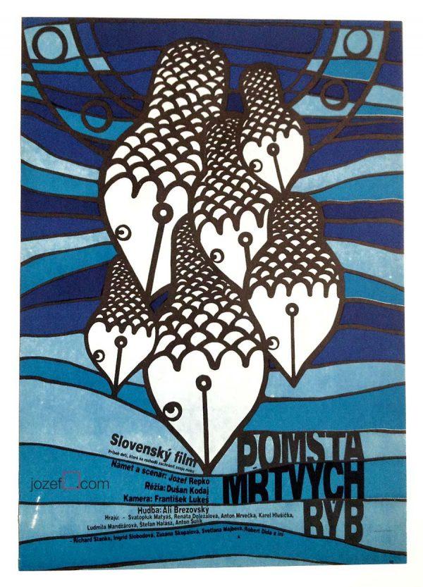 Movie Poster, 1980s Kids movie poster