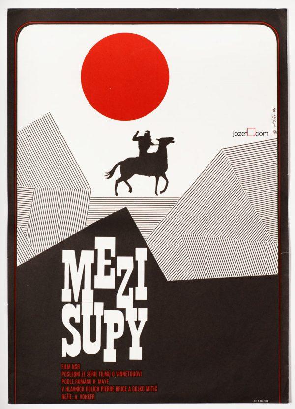 Western movie poster, Frontier Hellcat