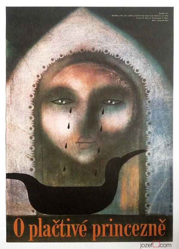 Film poster by Czech poster artist.