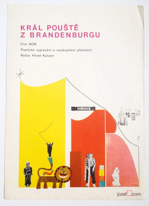Ever Alexander Púček, 70s poster design
