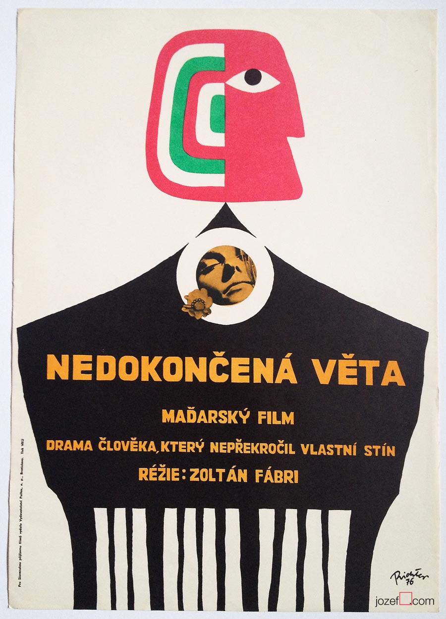 Minimalist poster, 1970 poster art