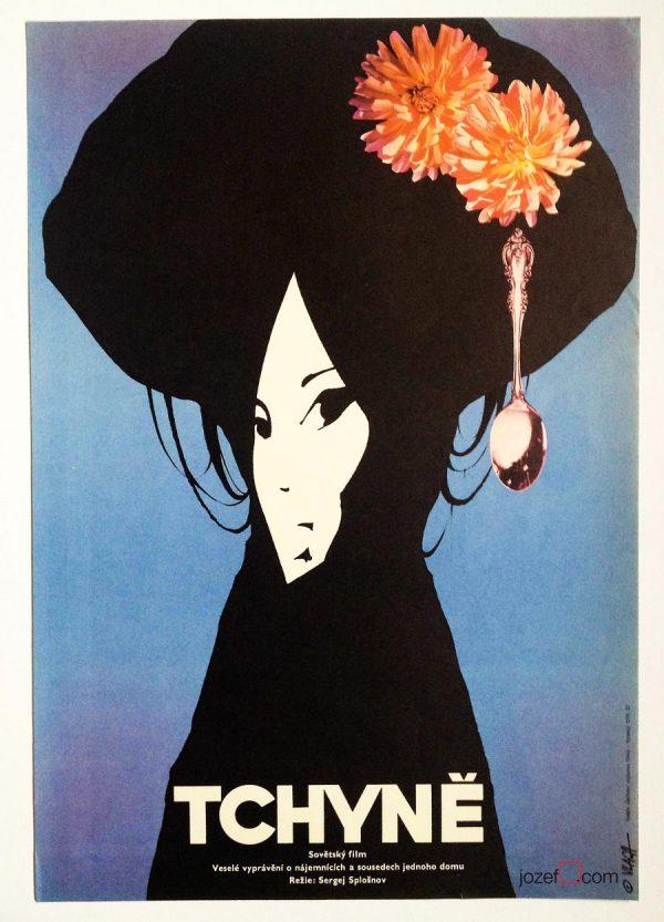 Movie Poster, 70s Poster Design