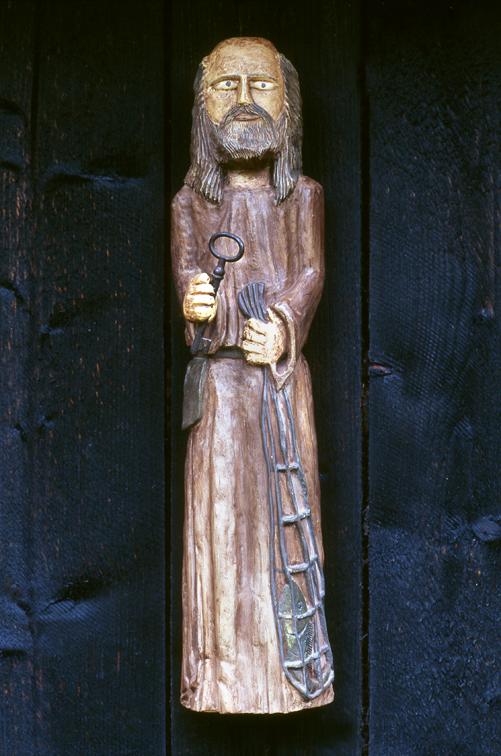 Saint Peter, Sculpture