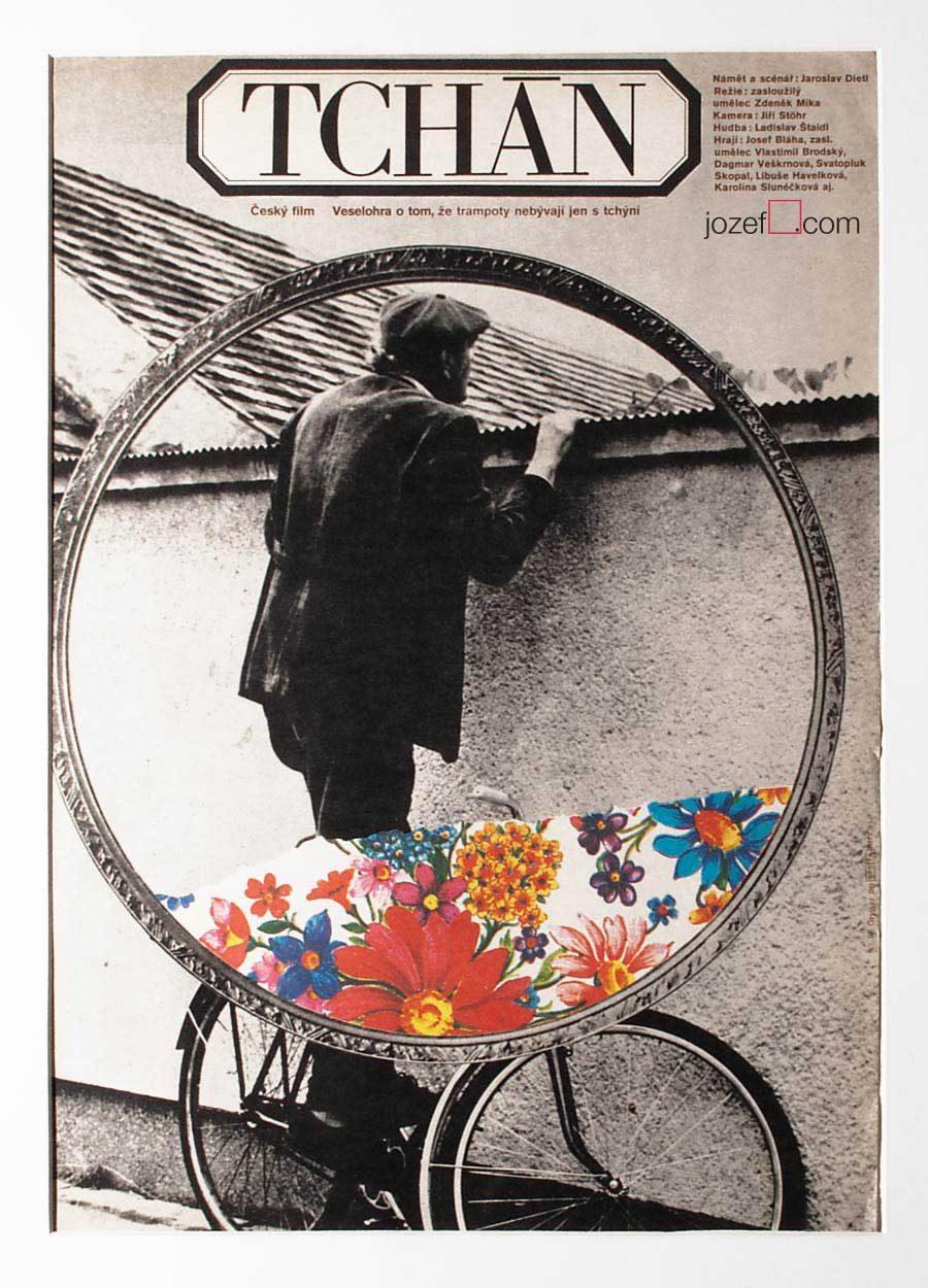 Collage poster design by Milan Grygar