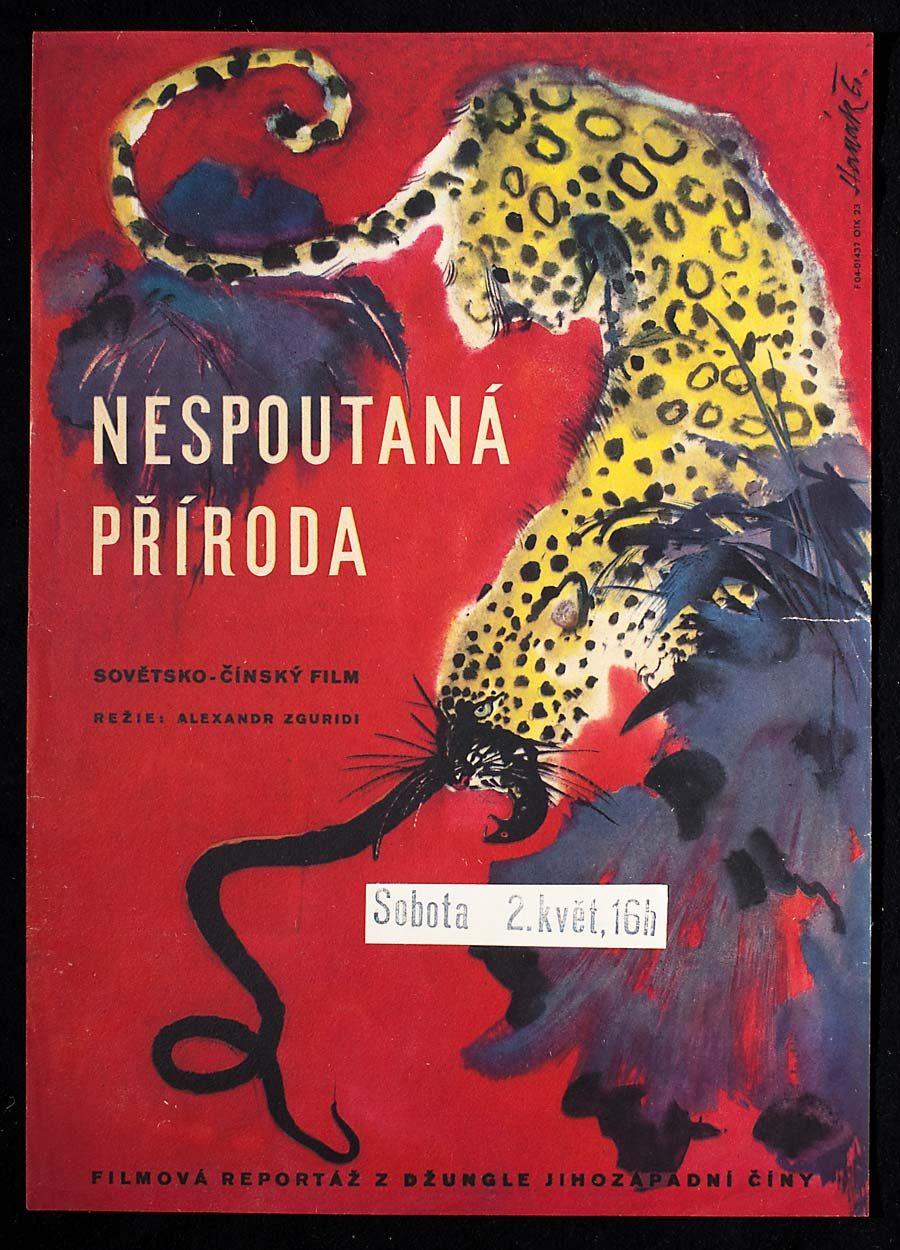 Movie poster, Secrets of Nature, 1960s Poster Design