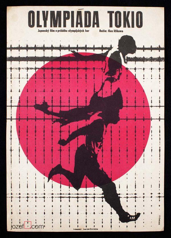 Movie Poster Tokyo Olympiad Kon Ichikawa