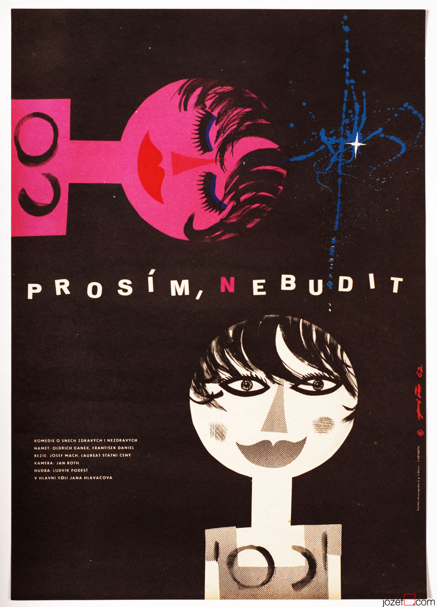 60s Poster Design, Jaroslav Fišer