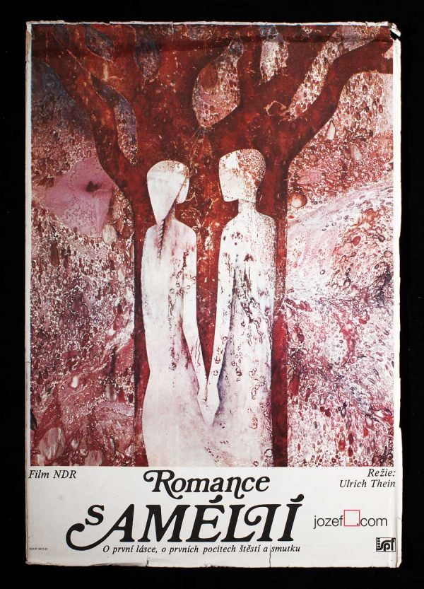 Romantic Illustrated Poster, Romance with Amelie