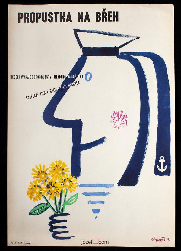Vintage Kids Poster, 60s Movie Poster