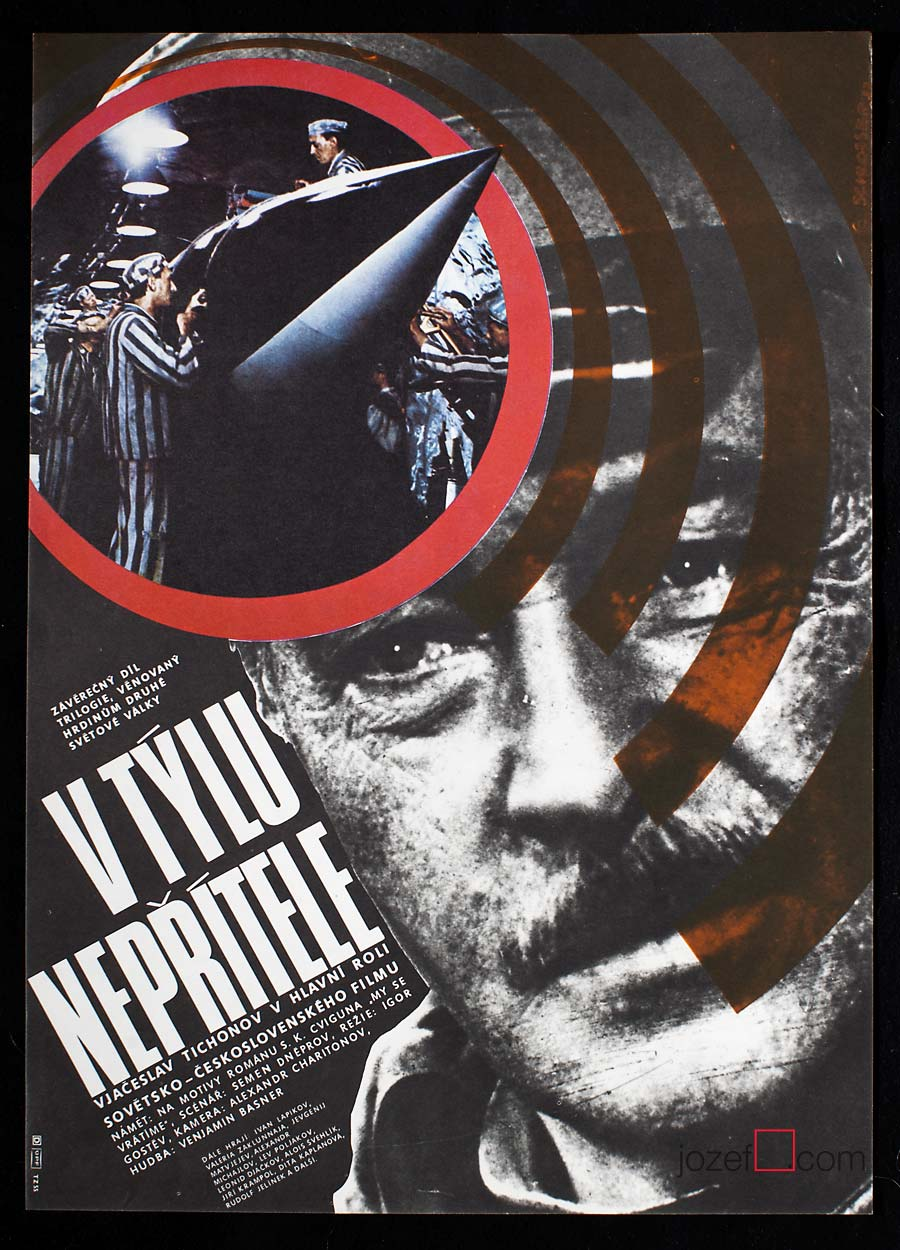 Film poster - Front in the Rear of the Enemy