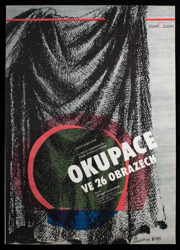 Film poster, Occupation in 26 Pictures, 70s poster