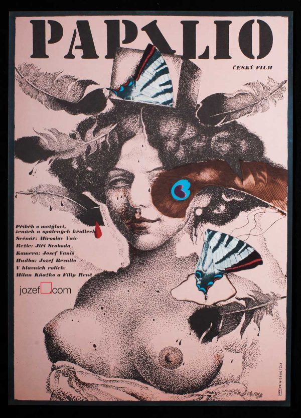 Karel Teissig, Papilio movie poster