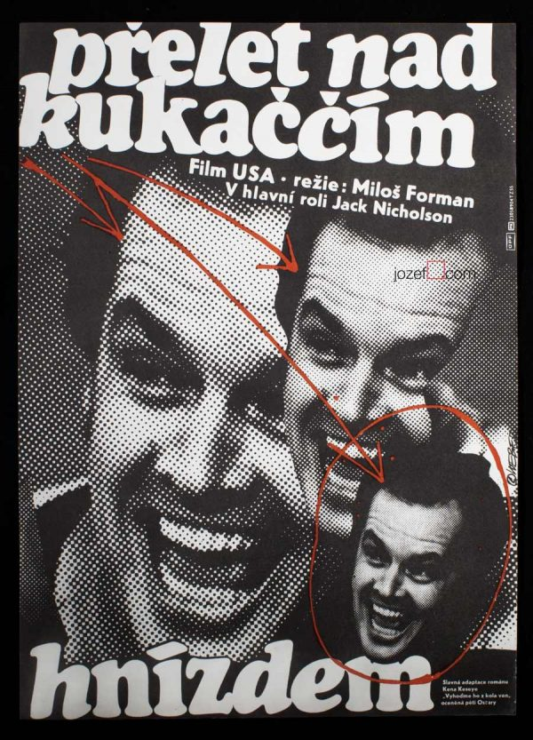One Flew Over the Cuckoo's Nest, Movie poster
