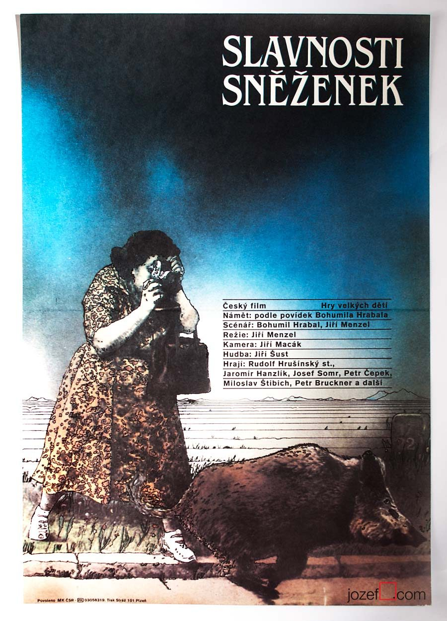 Movie Poster, The Snowdrop Festival, 80s poster