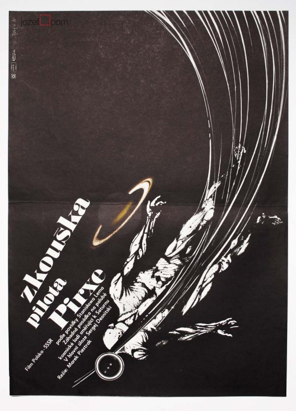 Sci-fi poster, Pilot Pirx's Inquest