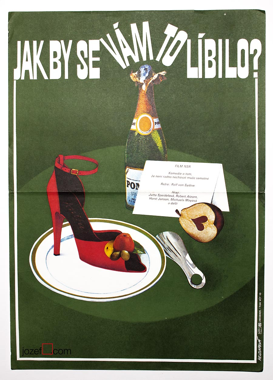 Foreign movie poster for German film