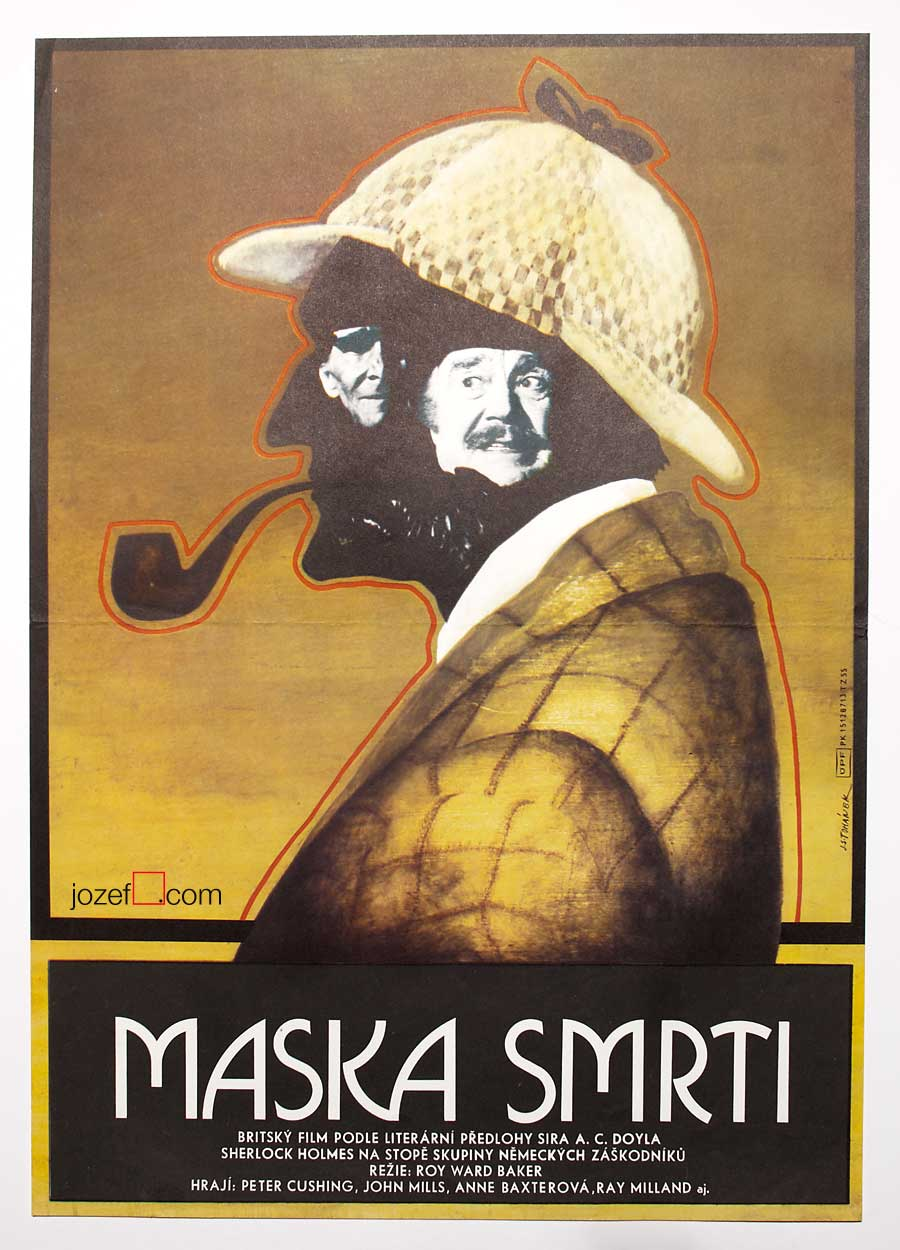 Movie poster, Sherlock Holmes and the Masks of Death