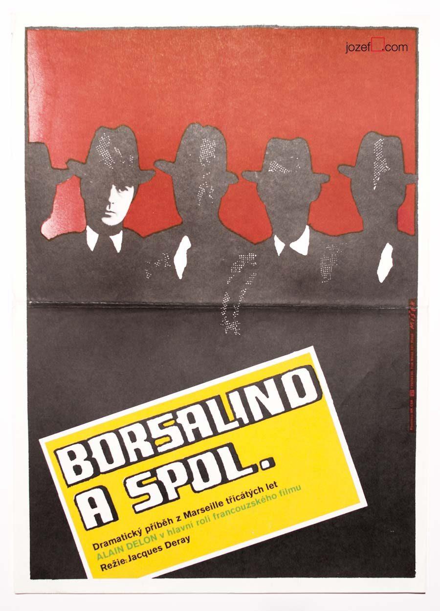 Vintage poster, Borsalino, 70s Poster