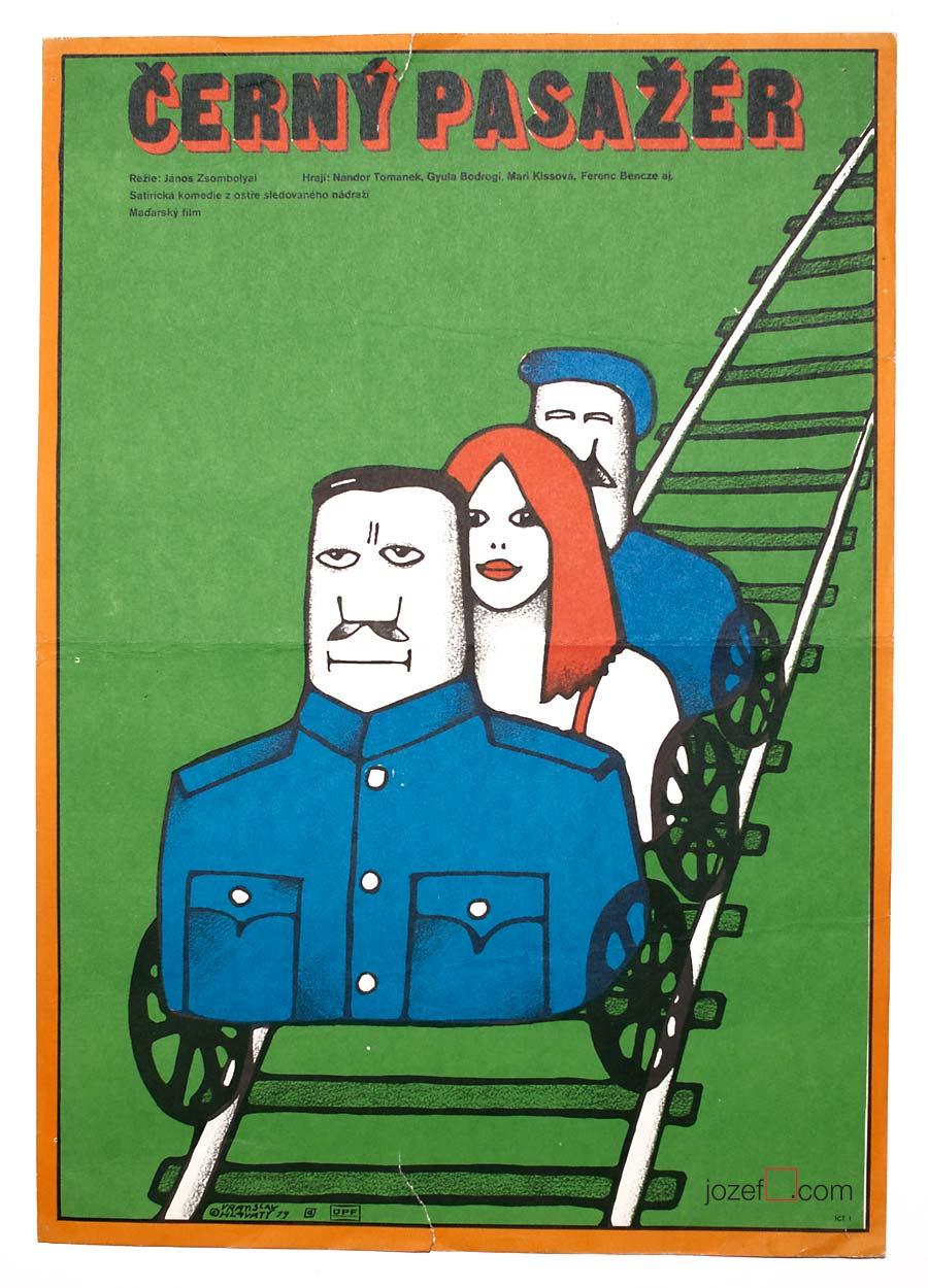 1970s movie poster - Vratislav Hlavatý