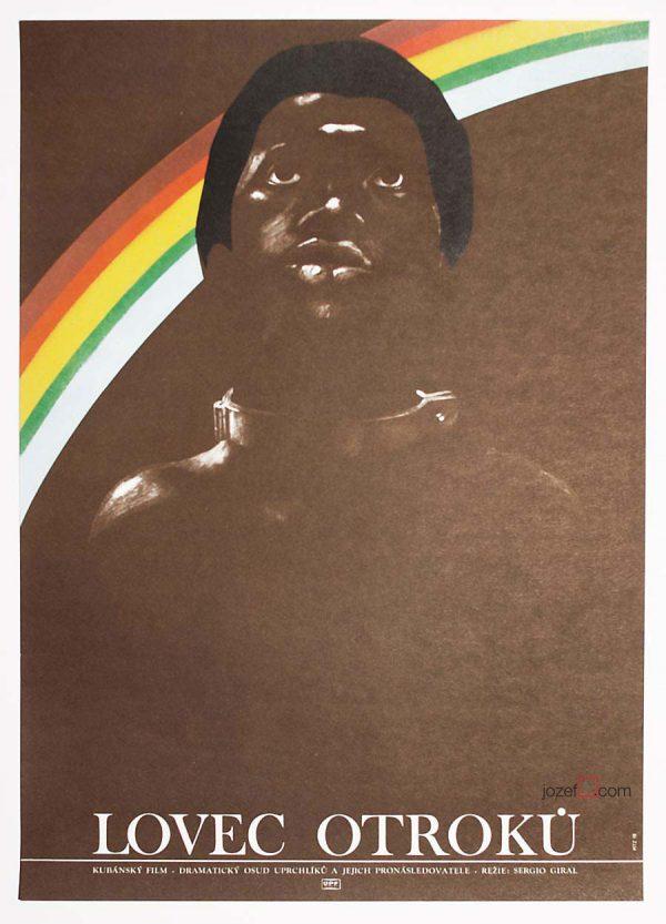 Movie poster, Slave Hunter
