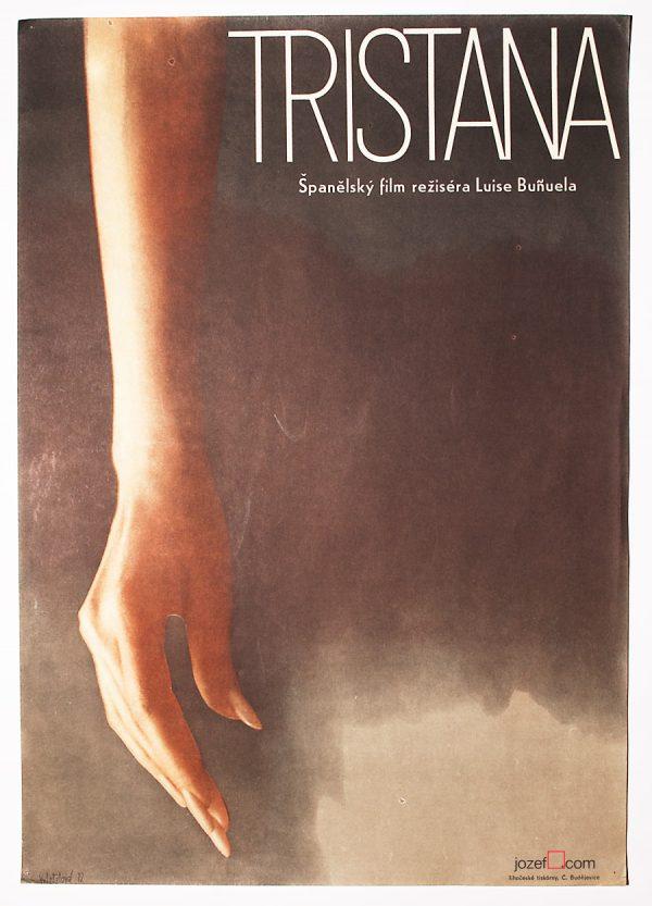 Tristana, 1970s Movie Poster
