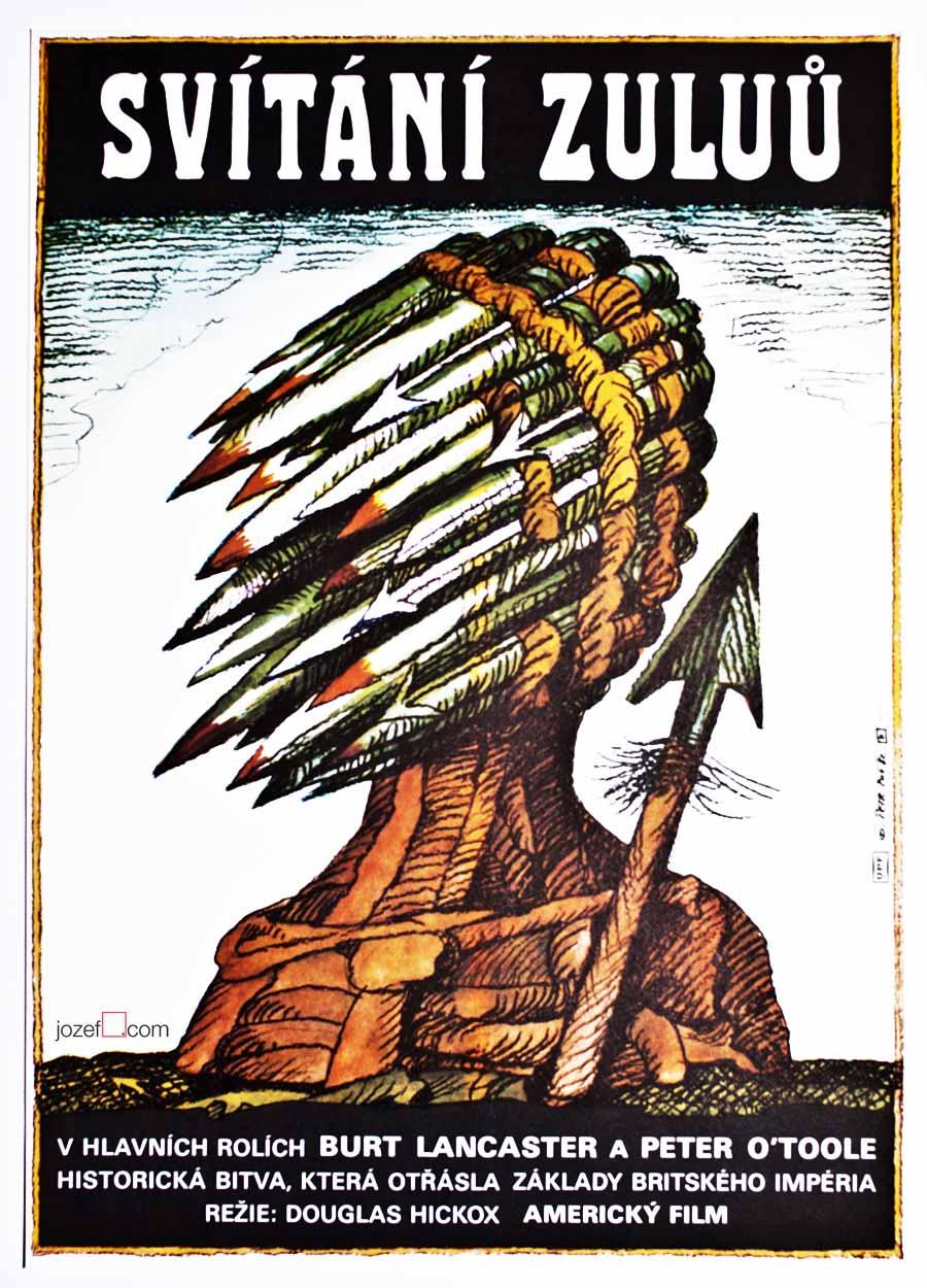 Zulu Dawn, Excellent 1980's poster.