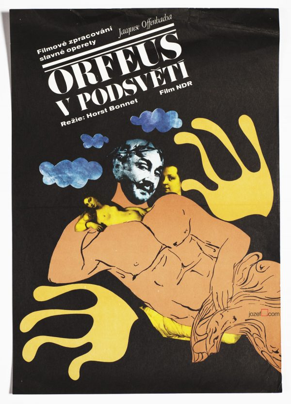 Orpheus in the Underworld, 70s Movie Poster