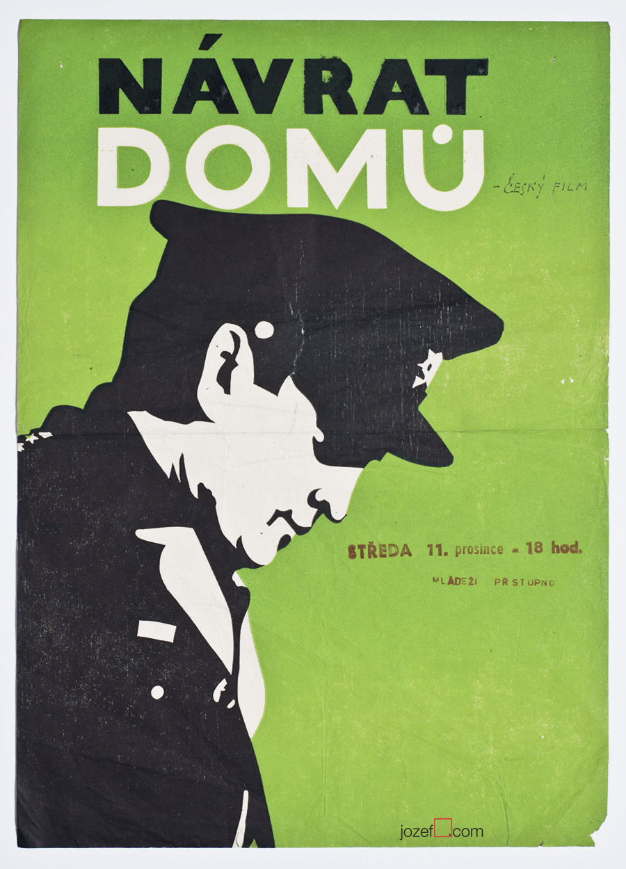 Movie Poster, War Drama, 40s Poster