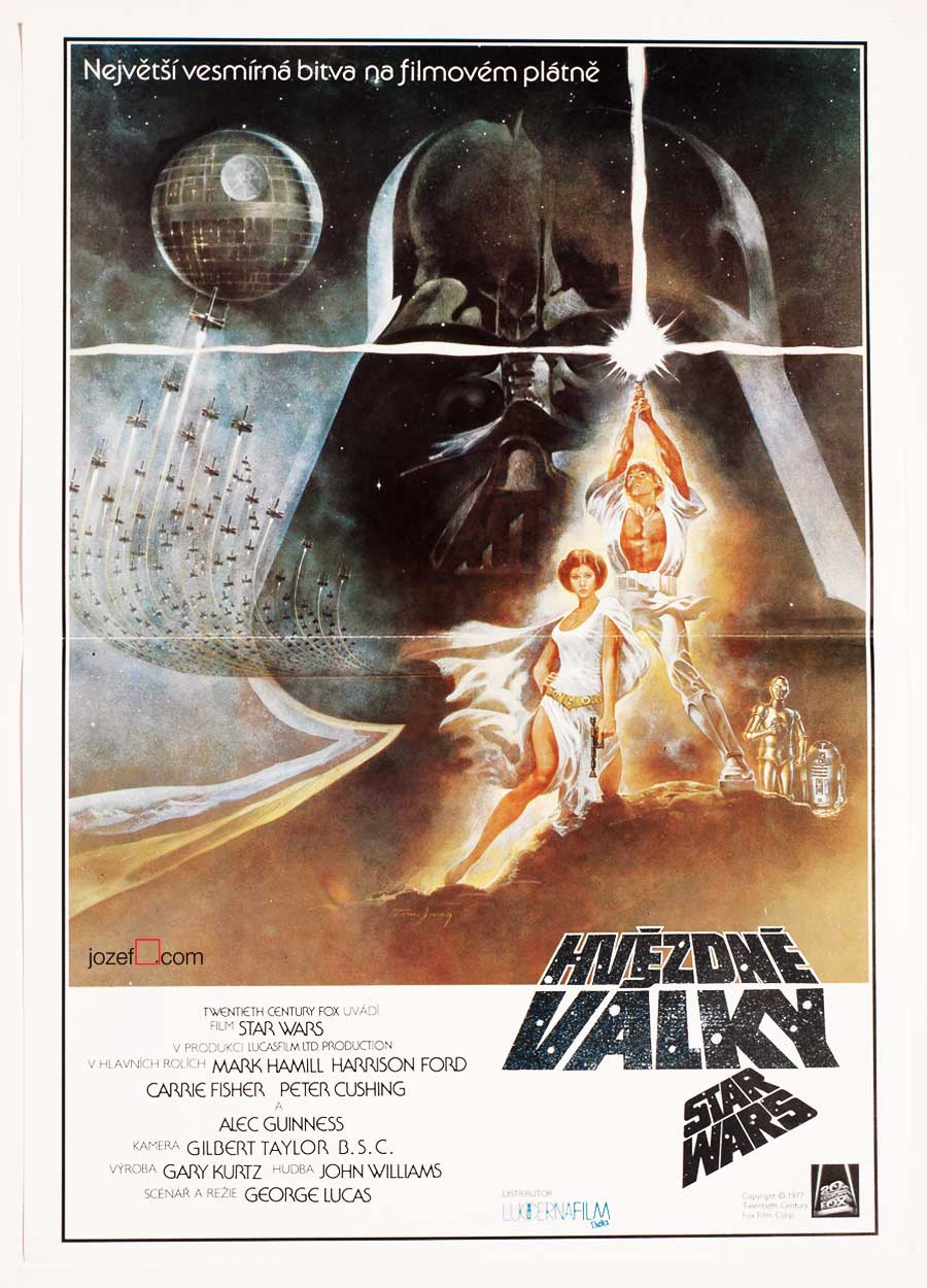 Star Wars Movie Poster, 1970s Poster Design
