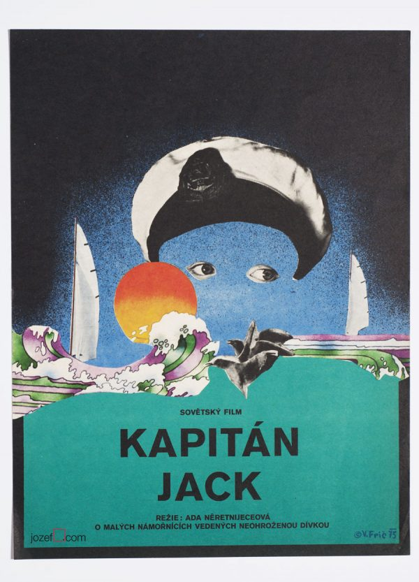 Captain Jack, Kids Movie Poster