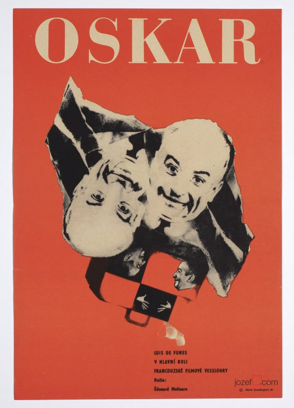 Oscar 1969 Movie Poster