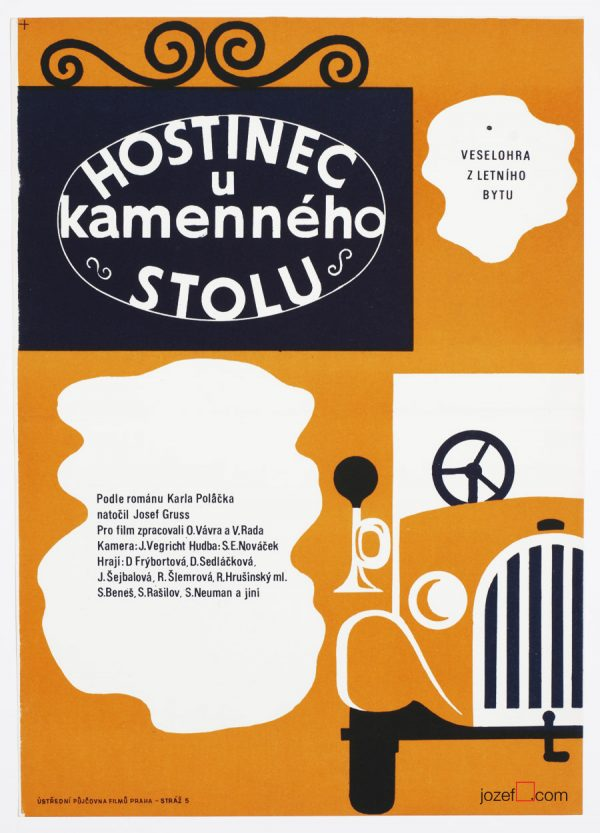 Vintage Poster Art, 60s Cinema Art