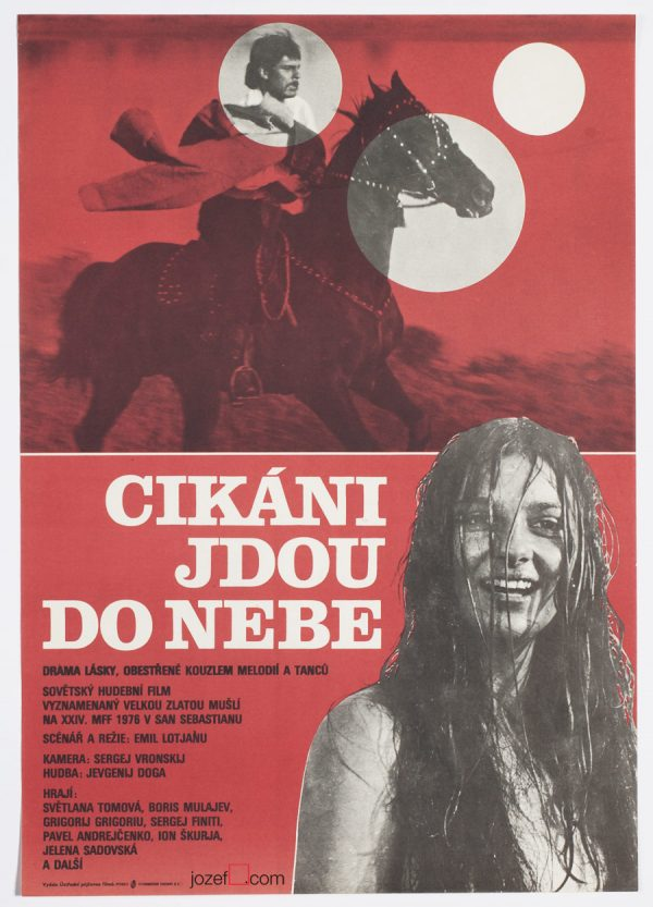 Movie Poster, Gypsies are found near heaven