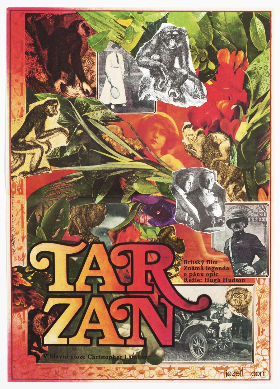 Legend of Tarzan, 80s Movie Poster