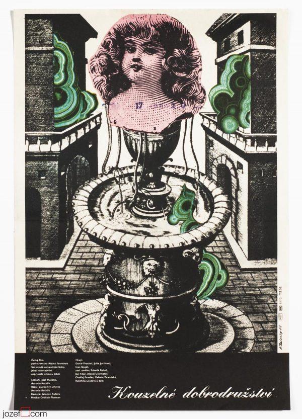 Karel Teissig, Surreal movie poster