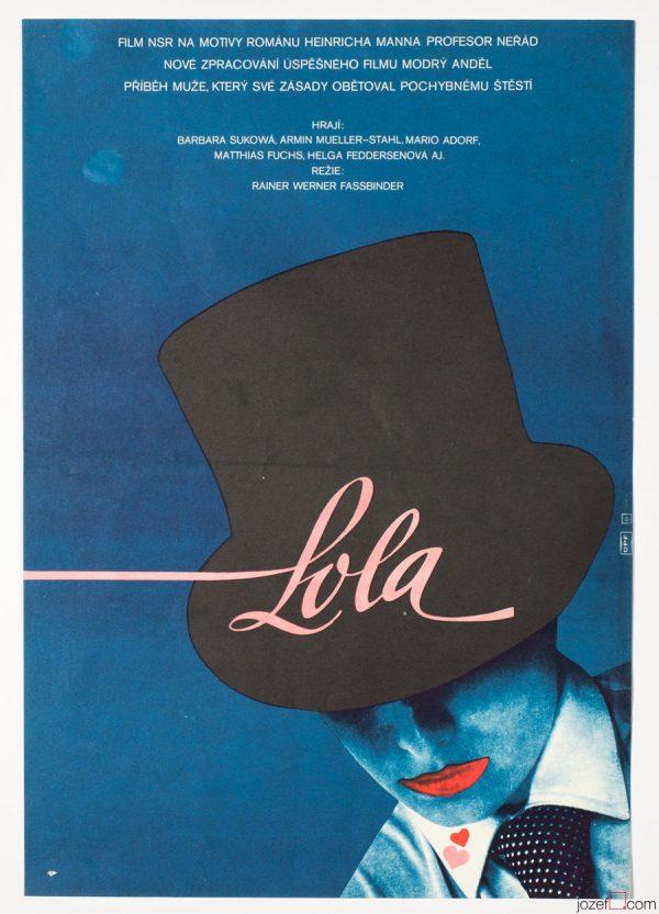 Reiner Werner Fassbinder, Lola Film Poster