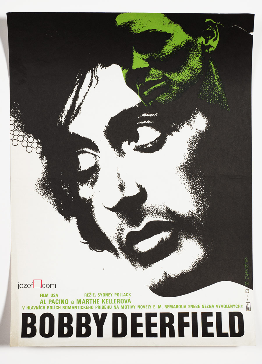 Bobby Deerfield movie poster, Al Pacino