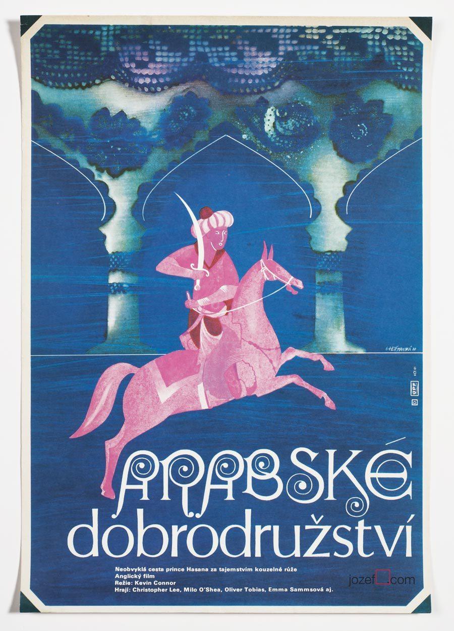 Kids Movie Poster, Arabian Adventure