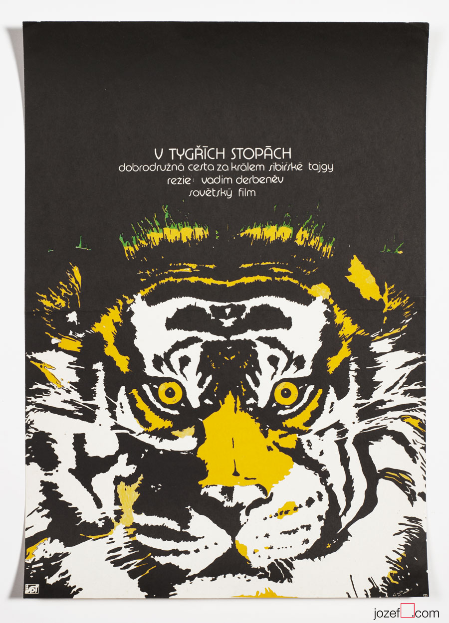 Movie poster, In the Footsteps of Tiger