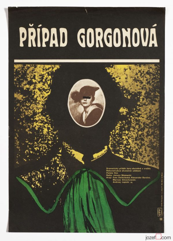 Collage poster, The Gorgon Case