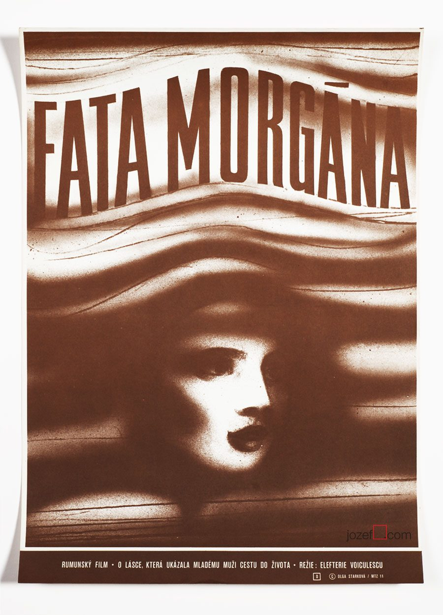 Minimalist movie poster, Fata Morgana