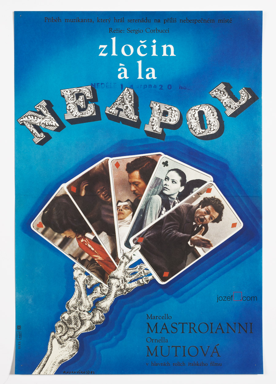 Neapolitan Mystery, Movie Poster