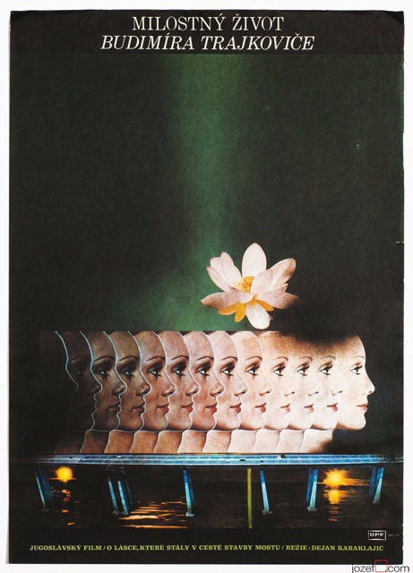 Surreal Poster, Beloved Love, 70s Poster