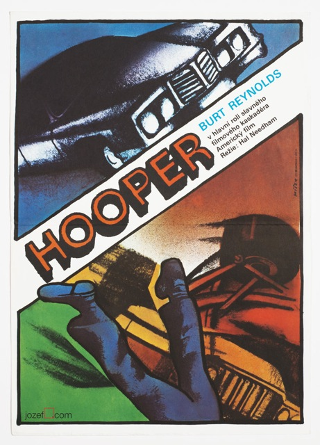 Hooper, Movie Poster, 70s Poster