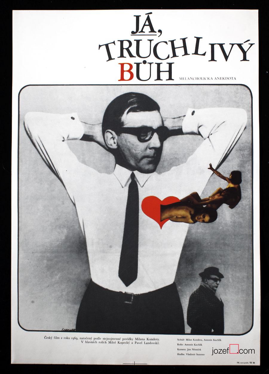 Movie Poster - based on Milan Kundera