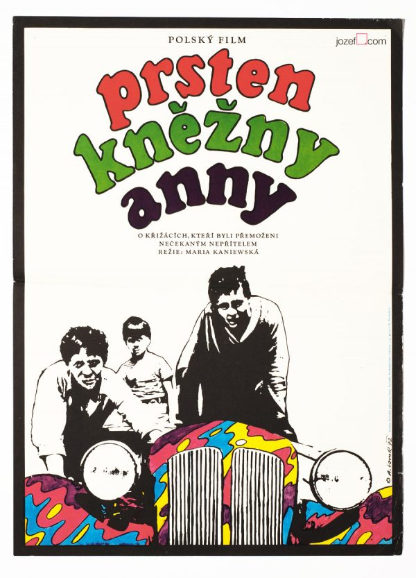 Rare Kids poster, 1970s Poster Design