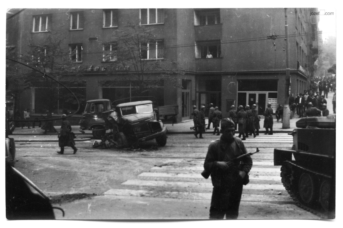 Unknown Photographer, Invasion of Czechoslovakia 1968