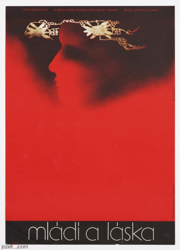 Minimalist poster, Affection, 70s Poster